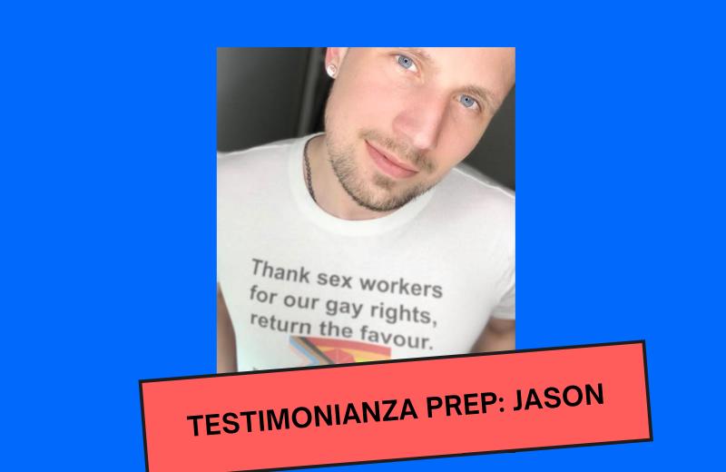 Jason: testimonianza PrEP
